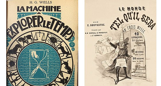 L'invention de l'avenir : prospective et science-fiction