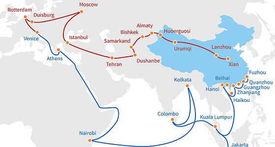 The New Silk Roads: On the Nature of Chinese Ambitions Les