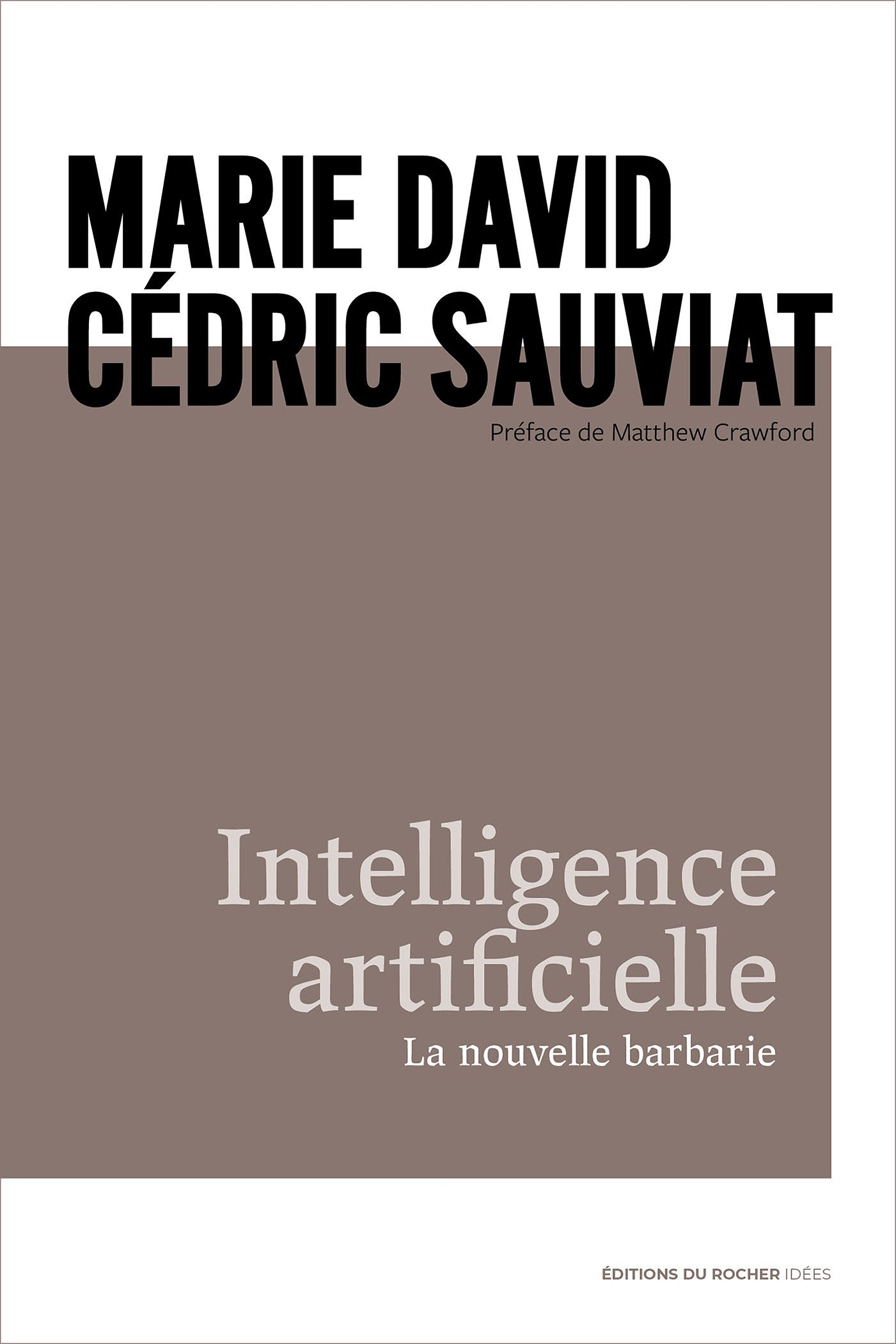 Intelligence artificielle. La nouvelle barbarie