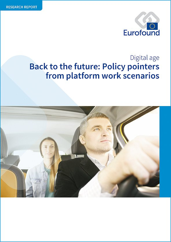 Back to the Future: Policy Pointers from Platform Work Scenarios