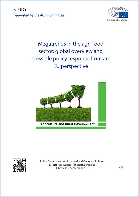Megatrends in the Agri-food Sector: Global Overview and Possible Policy Response from an EU Perspective — Research for AGRI Committee
