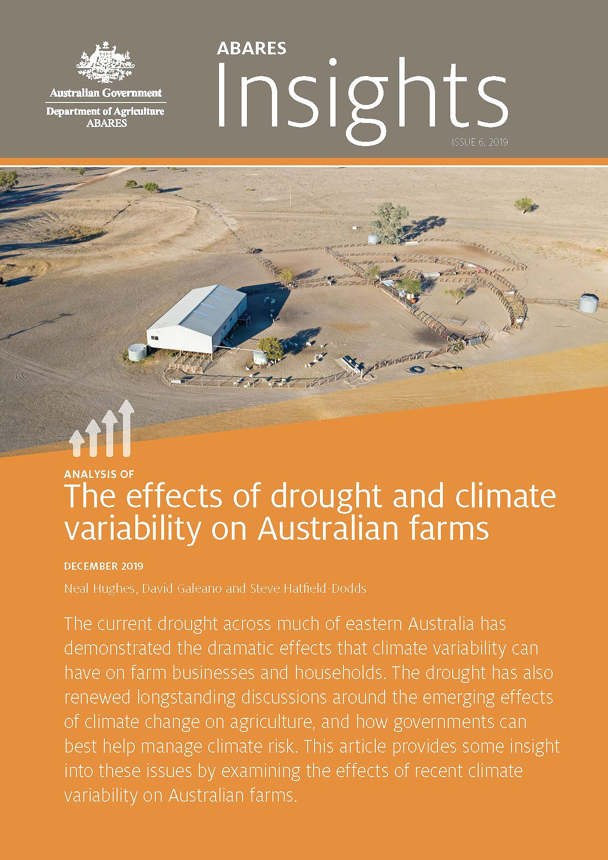 The Effects of Drought and Climate Variability on Australian Farms