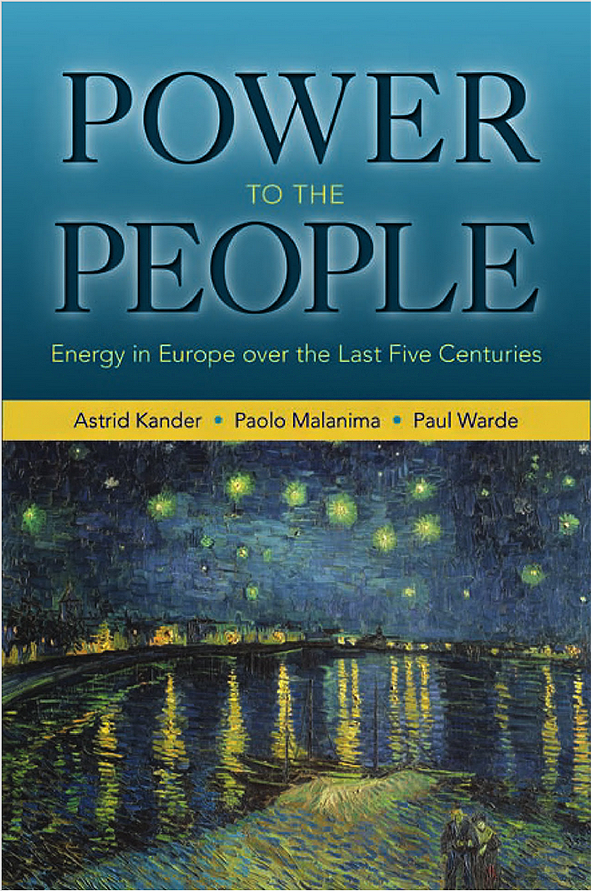 Power to the People: Energy in Europe over the Last Five Centuries