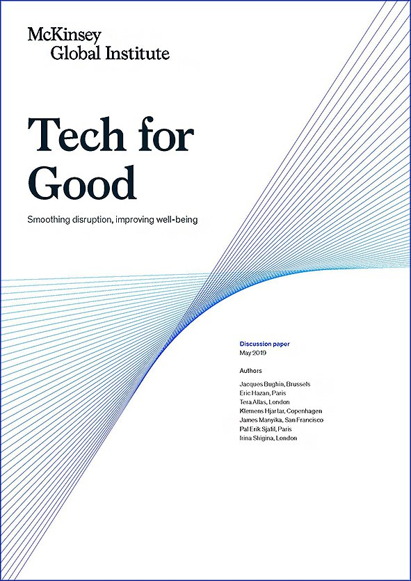 Tech for Good: Smoothing Disruption, Improving Well-being