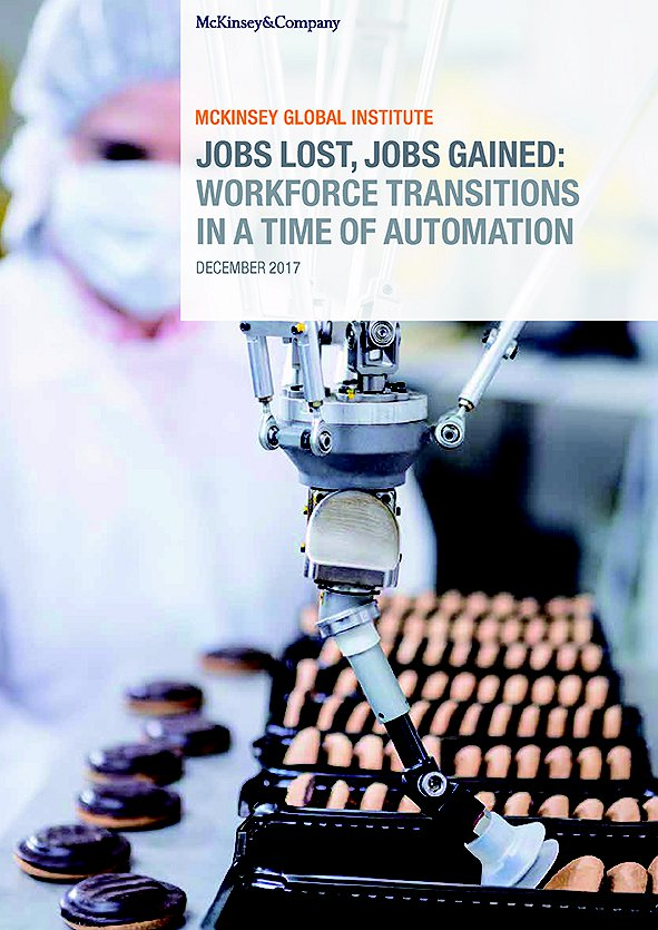 Jobs Lost, Jobs Gained: Workforce Transitions in a Time of Automation