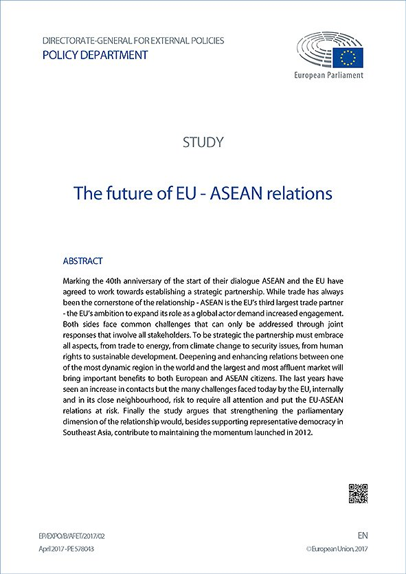 The Future of EU-ASEAN Relations