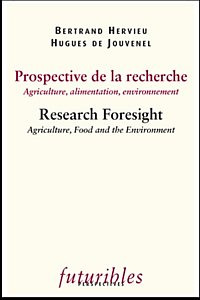 Prospective de la recherche / Research Foresight